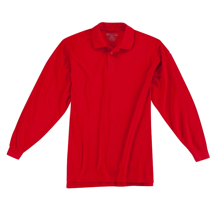 5.11 Tactical | Long Sleeve RED Friday Polo